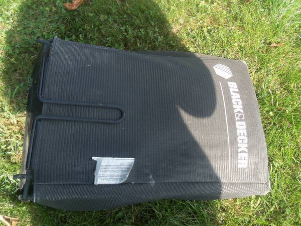 Photo Black and Decker Grass Catcher  Bagger for Lawn Mower - Cash or Trade - $20 (Reinholds, PA)
