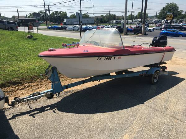 Photo Boat, Trailer and Motor for Sale - $4,125 (Mount Joy)