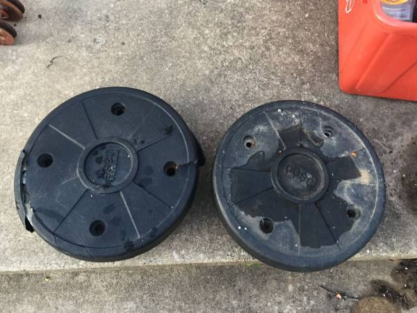Photo Case-Ingersoll Garden Tractor Wheel Weights - $25 (Conestoga)