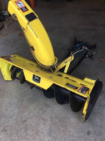 Photo John Deere 325 335 345 GX335 GX345 Lawn Mower Tractor 42 Snow Thrower - $200 (Millersville)