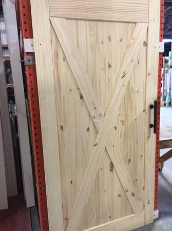 Photo Knotty Pine Sliding Barn Doors In-Stock - $139 (Centerville Rd Exit, Rt 30)