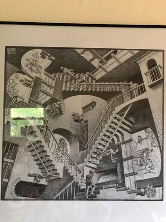 Photo MC Escher Relativity - $20