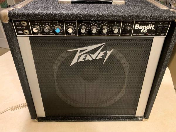 Photo Peavey Bandit 65 Solo Series Amp - $225 (Lancaster)