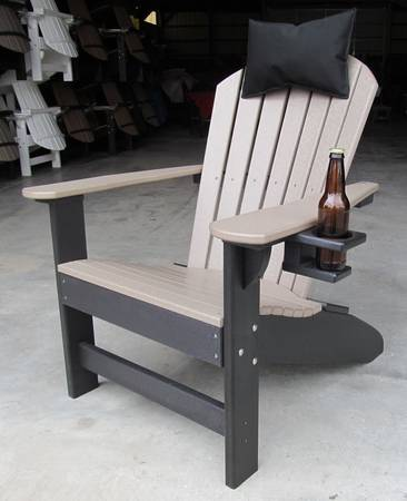 Photo Poly Adirondack Chairs and Outdoor Furniture (LOWEST PRICES) - $145 (Mount Joy)