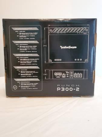 Photo Rockford Fosgate Punch Sub Amp P300-2 - $125 (Lancaster, Pa)