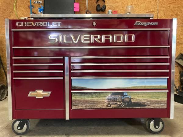 Photo Snap On Chevrolet Edition Master Series Tool Box - $2,900 (Elizabethtown)