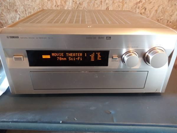 Photo Yamaha RX-V1 receiver  in original box with manual and remote control - $400 (Manheim Township  Lancaster)