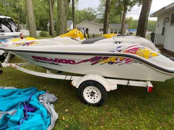 Photo 1997 Seadoo Speedster Twin Engine - Excellent Conditional - Low Hours - $6,000 (Coldwater, Mi)
