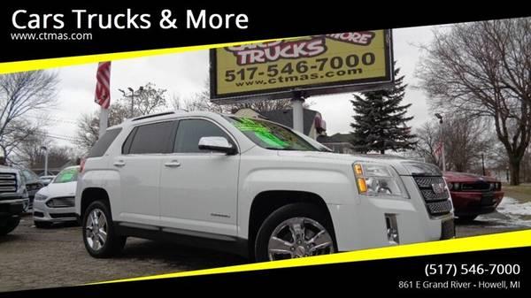 Photo 2014 GMC Terrain SLT2  Clean Carfax  GUARANTEED FINANCING  - $12995 (517-546-7000 Cars Trucks  More Howell MI)