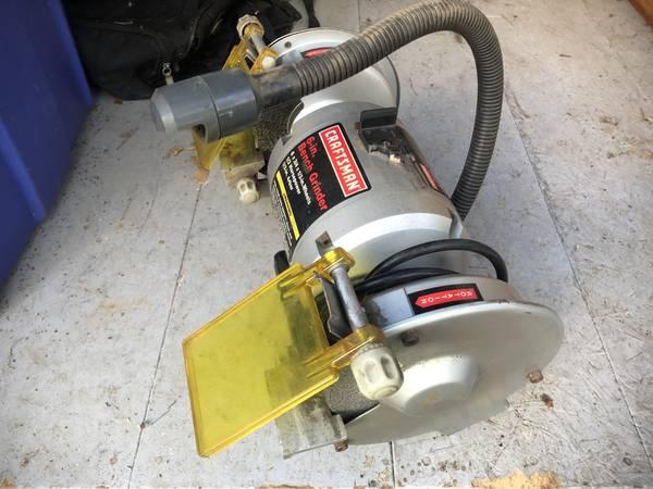 Photo 6quot craftsman bench grinder - $60 (Haslett)