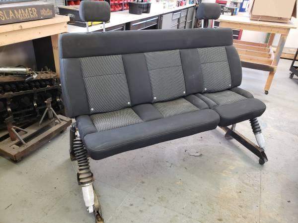 Photo Custom F150 Bench seat for garage, shop, or mancave - $25 (Eagle)