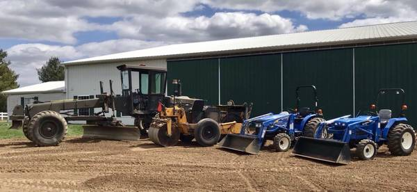 Photo Driveway, grader work, parking lot leveling, private road - $300 (Eaton  S Clinton)