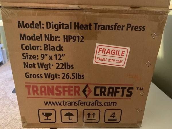 Photo Heat Press - $120 (Laingsburg)