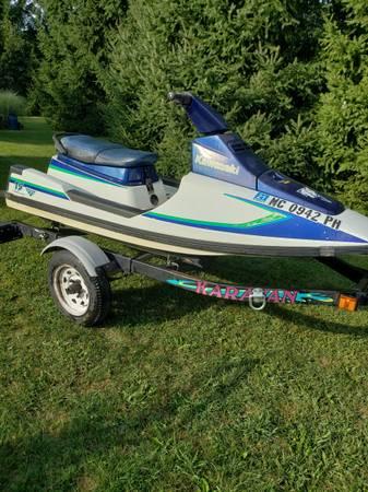 Photo Jet ski and trailer - $700 (Leslie)