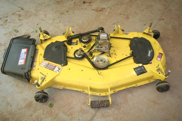 Photo John Deere Mower Deck - $950 (Gun Lake)