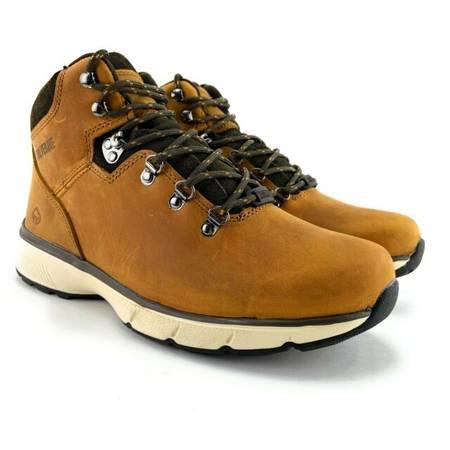 Photo Men39s Boots Wolverine BODI 5quot W30193 Tan Work Soft Toe Size 10 M Water - $60 (Lansing)