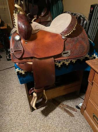 Photo Reining Saddle - $600
