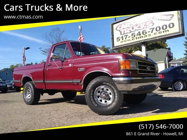 Photo Southern Truck  1989 Ford F150 Reg Cab 4WD XLT Lariat - 84k miles  - $12495 (Howell)