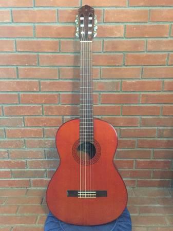 Photo Vintage 70s Yamaha G-65A Classical Guitar - $110 (Mason)