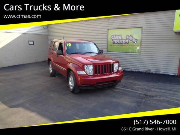 Photo 2010 Jeep Liberty Sport 4WD  Clean  We Finance  - $8,995 (Howell MI 517-546-7000 Cars Trucks  More)