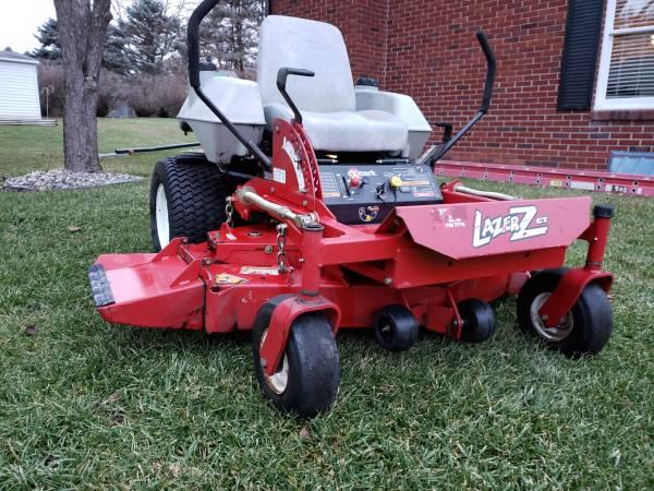 Photo eXmark Lazer Z CT commercial lawn grade zero turn lawn mower - $2600 (Jackson)