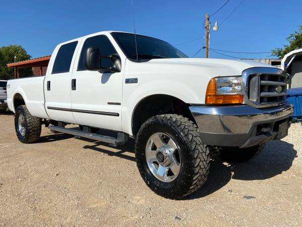Photo 2000 Ford F350 Superduty PowerStroke Turbo Diesel 7.3 Lariat FX4 - $16,995