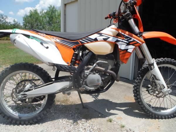 Photo 2012 KTM 250 XC-F Dirt Bike - $4,500 (Corpus Christi)