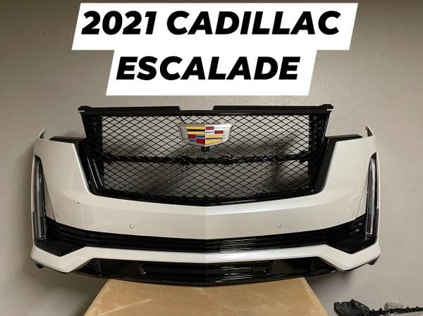 Photo 2021 CADILLAC ESCALADE GRILL  FRONT BUMPER - $1 (LAREDO, TX)