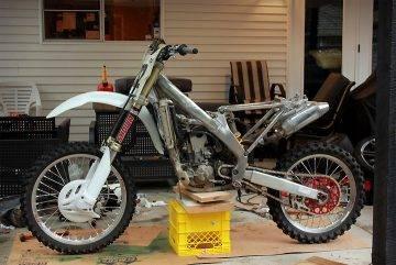 Photo Cash for non running dirtbikes or motorcycles  - $1 (San antonio)
