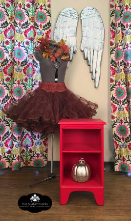 Photo Red Hot Side Table - $110 (Selma, Texas)