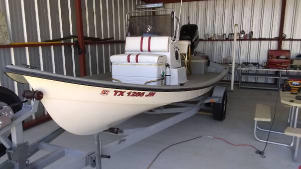 Photo Shoalwater tunnel v flats boat - $15,000 (Calaveras lake)