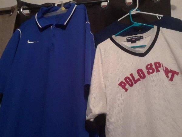 nike dri fit and polo sport jersey - $10 (corpus christi)