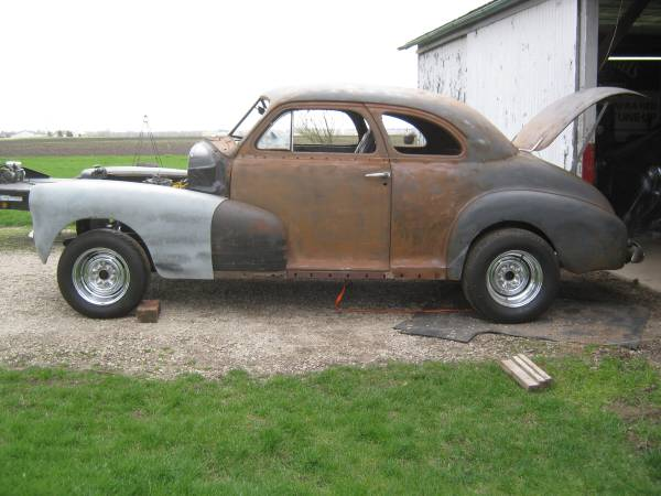 Photo 1947 Chevy Rat Rod gasser hot rod project - $3200 (grand ridge)