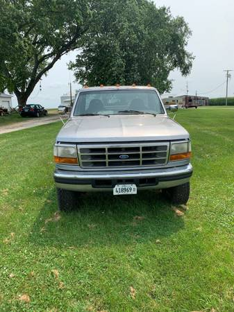 Photo 1997 f350 1 Ton Diesel - $4,500 (Streator)