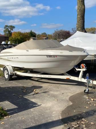 Photo 2000 Maxum 1800 SR - $9,995 (Fox Lake)