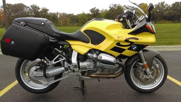 Photo 2001 BMW R1100S Sport Bike OEM City Bags, CORBIN Seat w Cowl - $4,550 (Lincolnshire, IL)