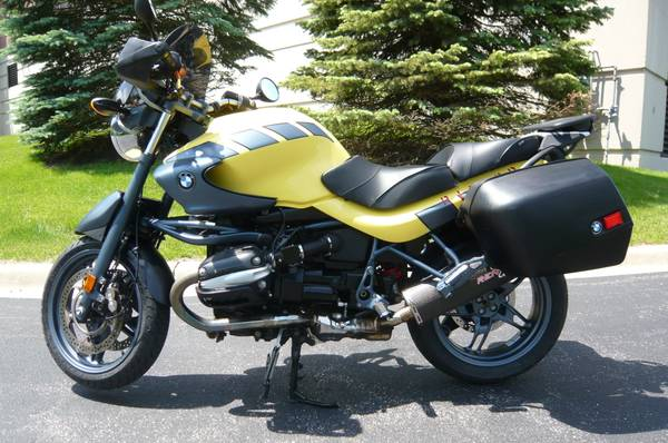 Photo 2002 BMW R1150R ABS ROCKSTER OEM Bags, Sargent Seat, Remus Exhaust - $4,500 (Lincolnshire, IL)