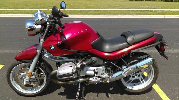 Photo 2003 BMW R1150R ROADSTER  OEM Hard Bags, Smoked Windscreen, Metzlers - $4,350 (Lincolnshire, IL)