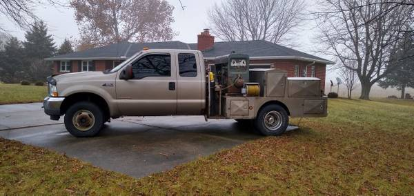Photo 2003 Ford F-350 4x4 welding rig w Lincoln SA-200 - $10000 (Utica)