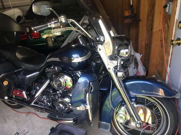 Photo 2003 Harley Davidson Road King Anniversary Edition 7100 MILES - $8,999 (Old Irving Park)