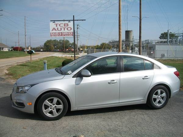 Photo 2015 Chevy Cruze LT - $6,900 (TCB Auto, Normal)