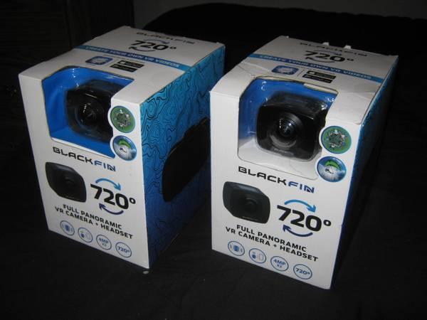 Photo 2 NEW BLACKFIN HEADSET VIDEO ACTION CAMERAS - $25 (Carol Stream)