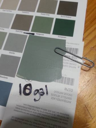 Photo CABOT - Solid Color Acrylic Deck and Siding Stain (hedgerow-10 Gal) - $120 (NW Suburbs)