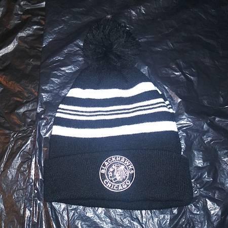 Photo Chicago Blackhawks Hockey 2019 Sga New Winter Classic Hat 10k Made - $25 (Chicago)