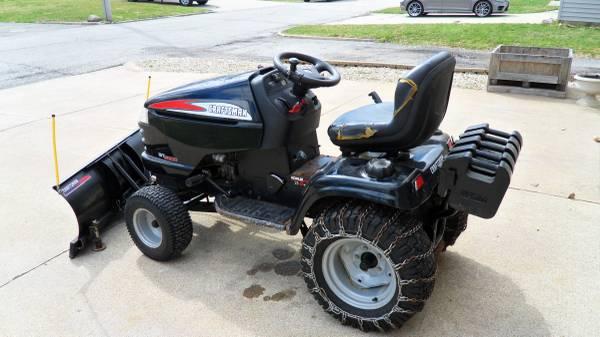 Photo Craftsman Garden Tractor - $1800 (Princeton)