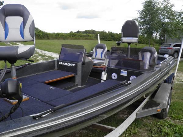 Photo Custom 1988 Ranger 363V Bass Boat - $3,500 (Maquon)