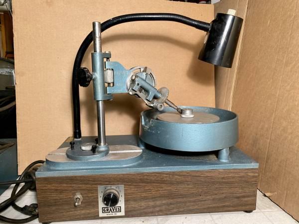 Photo Graves Mark III Faceting Machine Lapidary Eauipment - $800 (Mendota)