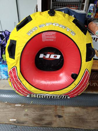 Photo Inflatable Boat PWC Towable Tube - $85 (Carol Stream)