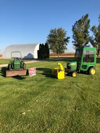 Photo John Deere tractors, 425  955 (Ancona)