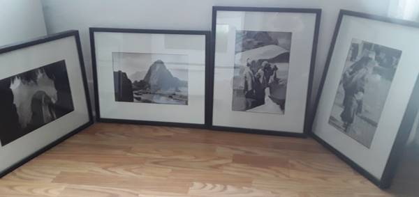 Photo Machu Picchu photographs framed, 4 at $10 each. - $10 (Beverly Morgan park Chicago)